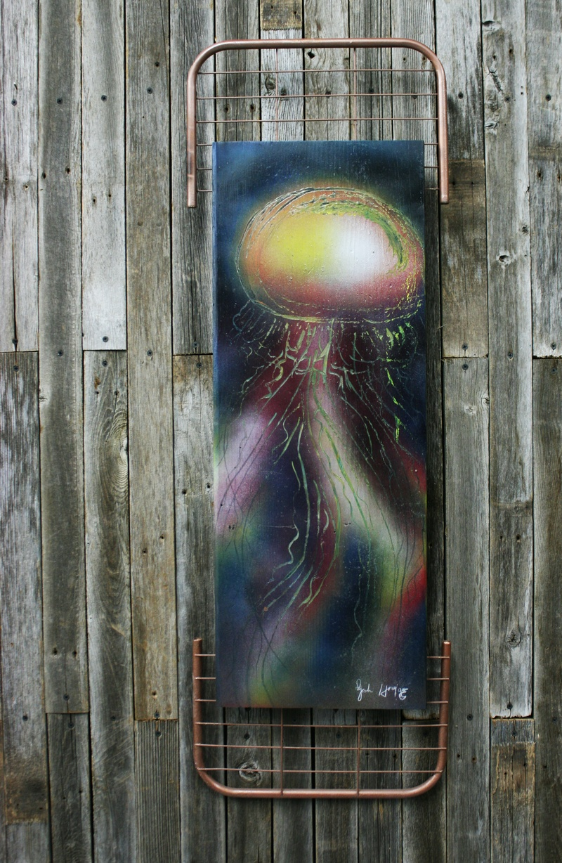 Graffiti Sea Jelly