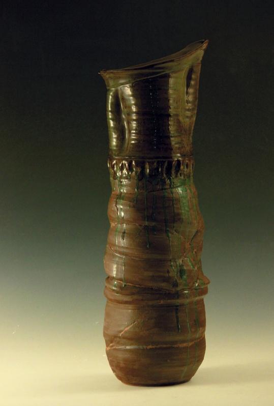 Tethered Tall Vase